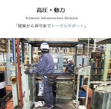 高圧幹線動力設備工事